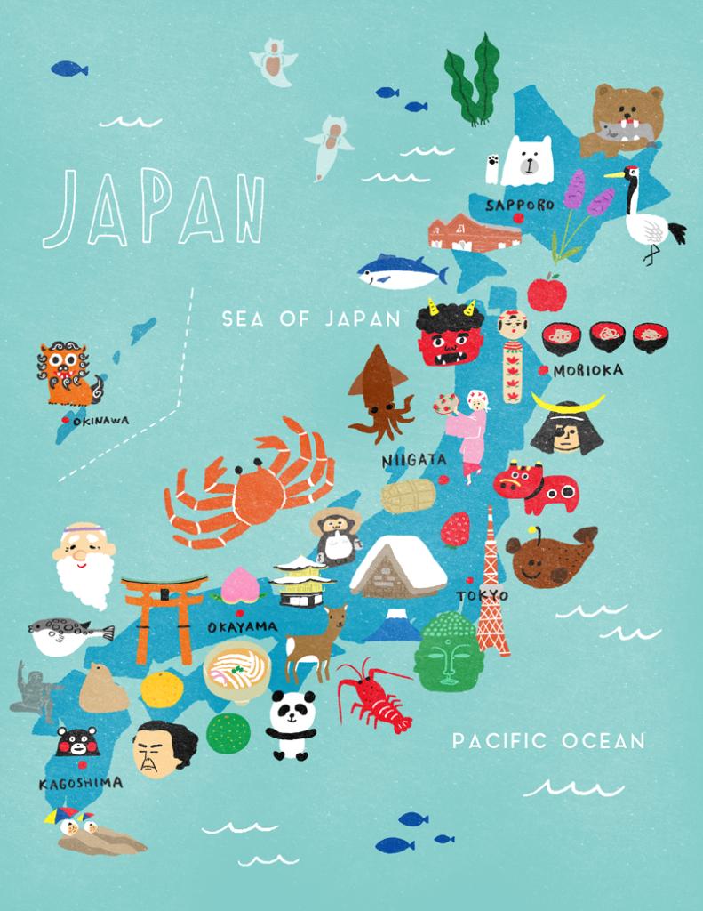 japanilllustrationmap